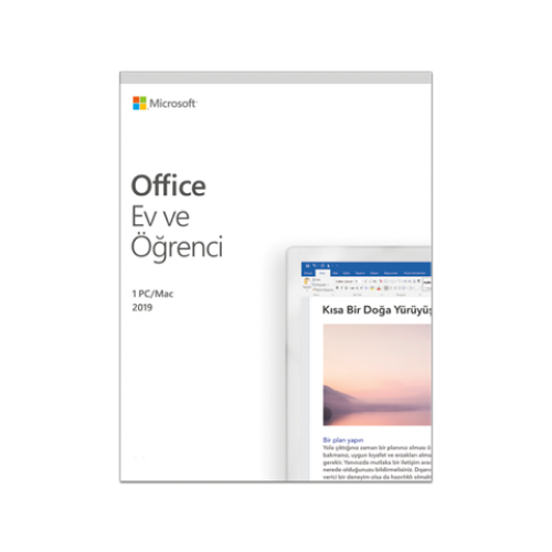 Microsoft Office 2019 PC veya Mac Ev ve Öğrenci