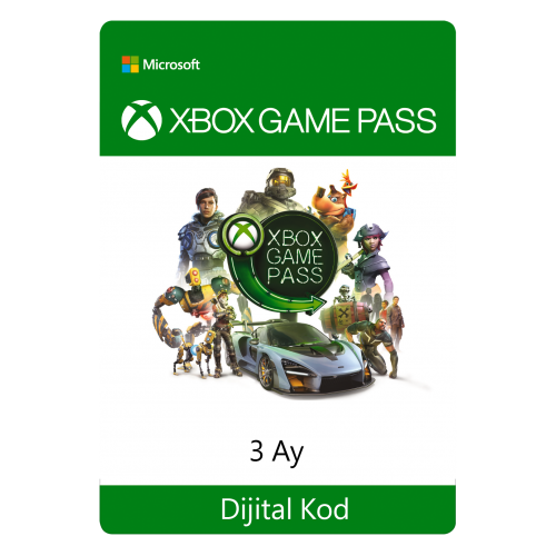 Xbox Game Pass - 3 Ay